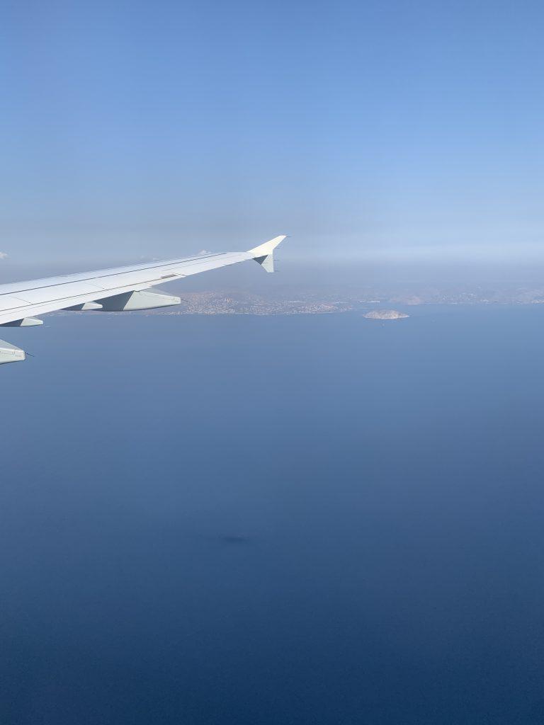 Ionisches Meer | Anflug Athen