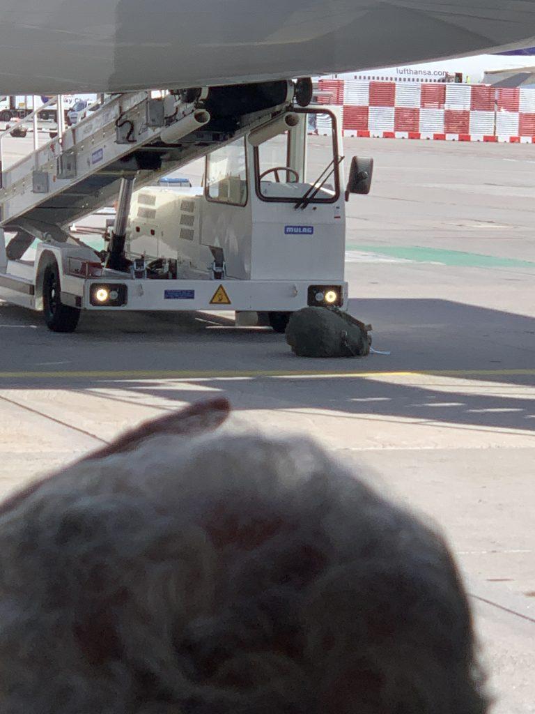Flughafen Franfkurt | Seesack | Gepäckverlust